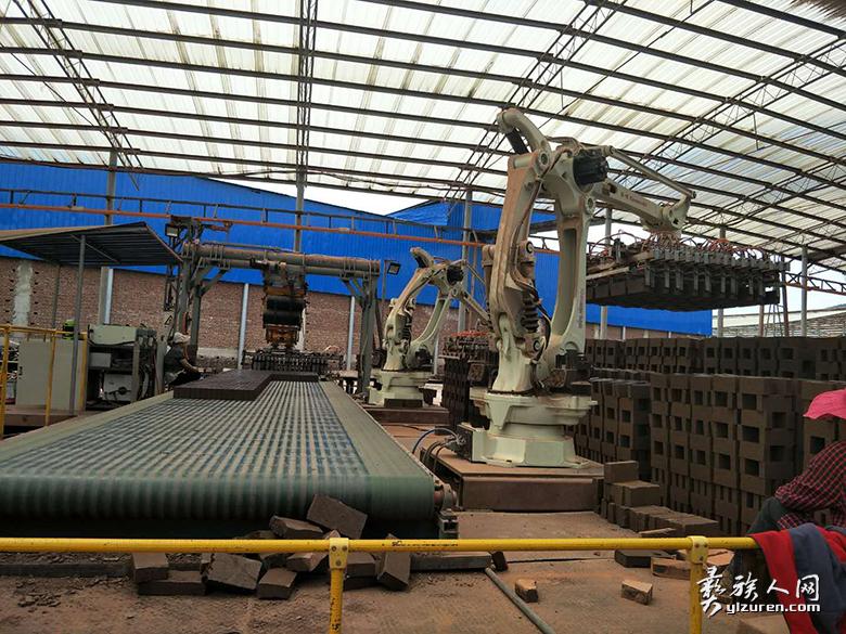 现代化的觉铁砖厂