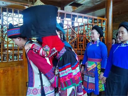 盘州市:古韵传承,妥乐演绎传统彝族婚俗!