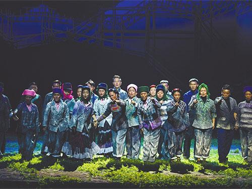 整部剧没有一句台词,彝族歌剧《听见索玛》以情动人