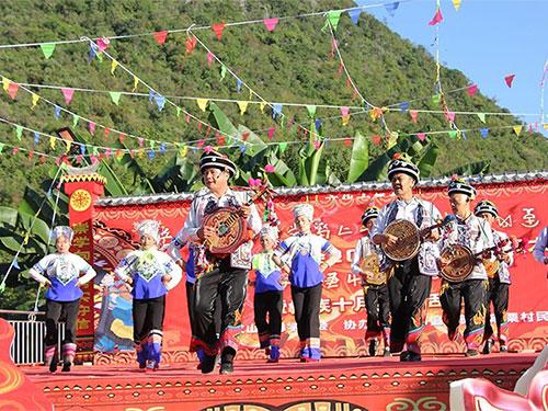 """文山州:彝族十月年节:弦子""""铮铮""""响,美好生活来"""