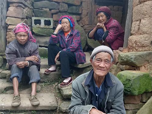 彝族密岔村图像志(一):武定县山居村