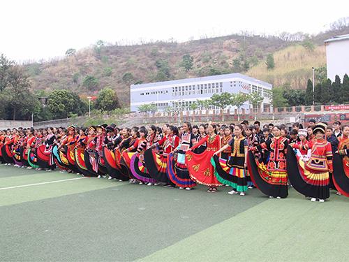米易县民中:铸牢中华民族共同体意识  绘好民族团结同心圆