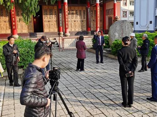 文献纪录片《李桂英》开机拍摄
