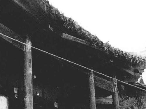 解放前沙马土司辖区(沙马母古)彝族格洪原始住房