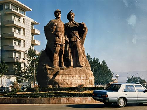 凉山的什么碑 让国家领导人题写碑名?