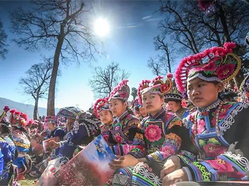 浅析马缨花纹样在彝族服饰文化传播中的艺术体现——以楚雄州永仁县彝族妇女服饰为例