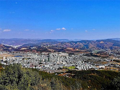 武定县提升城市颜值丰富群众文化生活品质