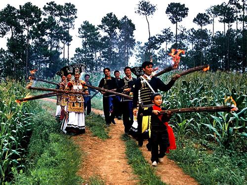 非遗名录:彝族火把节(国家级 凉山)
