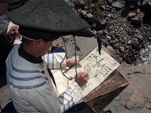 非遗名录:毕摩绘画(省级 凉山)