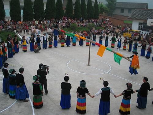 非遗名录:彝族磨尔秋(省级 凉山)