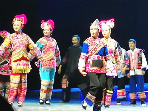彝族歌舞的艺术展现——评大型彝族歌剧《古微鲁》
