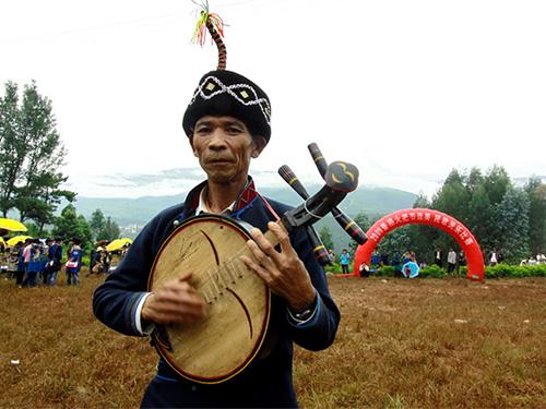 非遗名录:彝族月琴音乐(省级 凉山)
