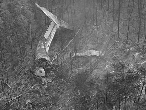黑马彝族人民和美国飞行员故事