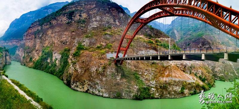 大渡河景观(哈土 摄)