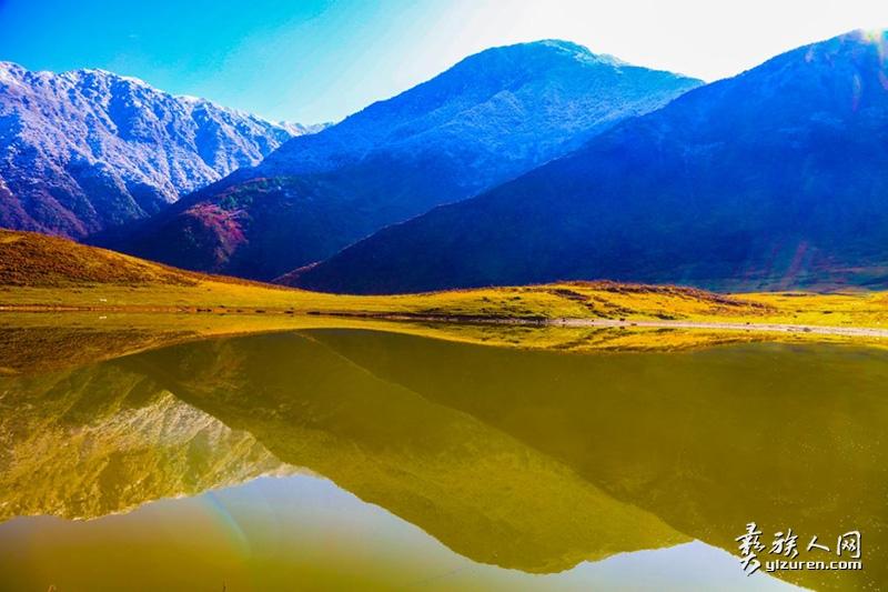 冬韵哈莫湖(李仕友 摄)