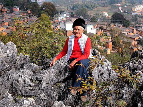 一位山里彝族农民的红色守望