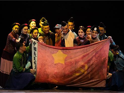 民族舞剧《情深谊长》演绎彝海结盟誓言
