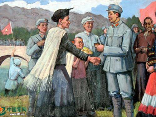 刘伯承长征路上拜把子 彝海结盟民族情深