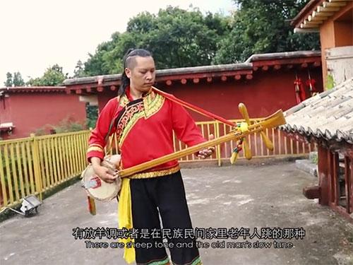石林彝族撒尼人纪录片《话.三弦》