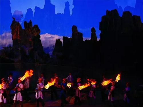 石林火把节:从彝族文化的传承说起