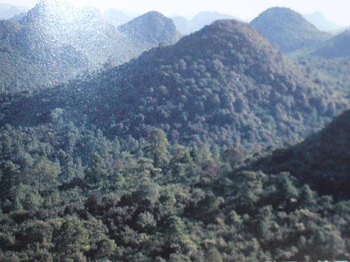 诺糯四头山——革命和英雄的山
