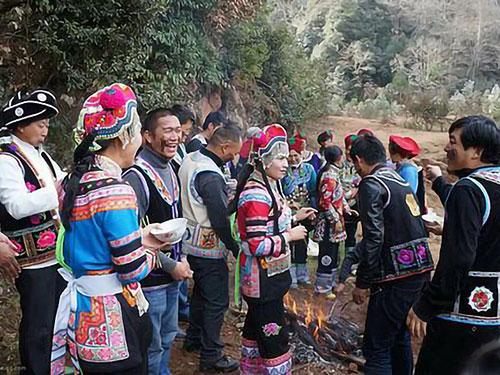 罗婺故地武定彝族酒文化:彝家的米酒彝山的歌