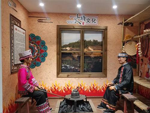 弘扬民族传统文化 构建共有精神家园 ——盘龙区双龙街道乌龙社区彝族民俗文化展示厅建成并对外开放