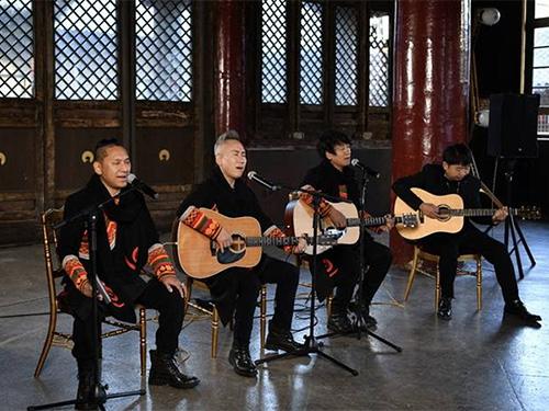 彝人制造发布新专辑《吉狄马加的诗》 在古建唱响传统的新时代之声