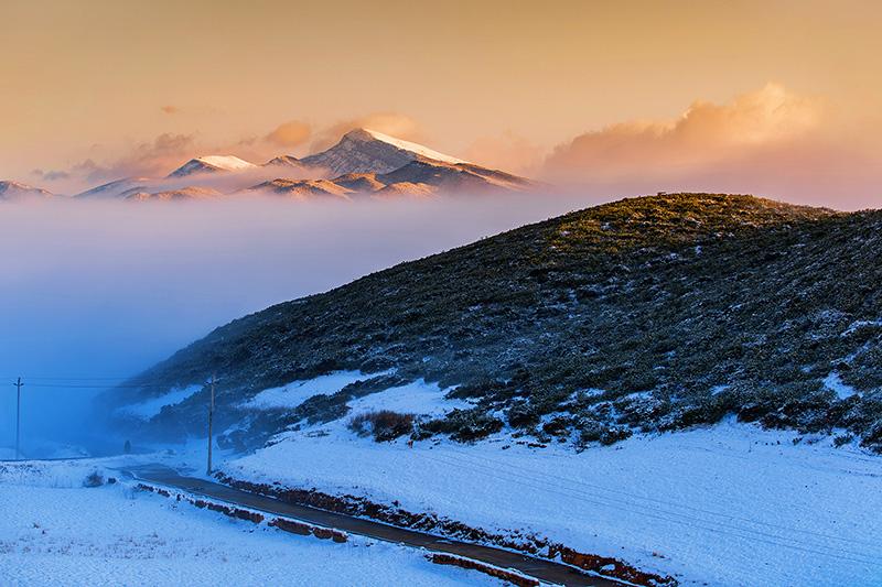 《冬日之光》吉格阿加摄-乌科乡