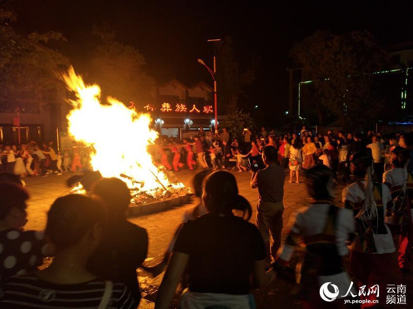 篝火晚会(供图)