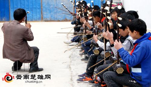 五街镇校园彝族民俗文化氛围浓567